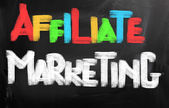 Affiliate Marketing Concept — Stock Photo