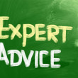 Stock Photo: Expert Advice Concept