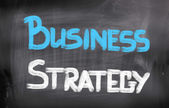 Business Strategy Concept — Stock Photo