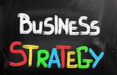 Business Strategy Concept — Stock fotografie
