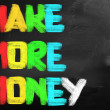 Stock Photo: Make More Money Concept
