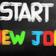 Stock Photo: Start New Job Concept