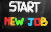 Start New Job Concept — Foto Stock