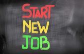 Começar o novo conceito de trabalho — Fotografia Stock