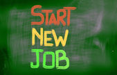 Start New Job Concept — Photo