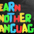 Learn Another Language Concept — Foto Stock #42044143