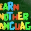 Learn Another Language Concept — Zdjęcie stockowe #42044161