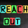 Stock Photo: Reach Out Concept