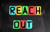 Reach Out Concept — Stock Photo