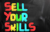 Sell Your Skills Concept — Стоковое фото