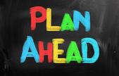 Plan Ahead Concept — Stock Photo