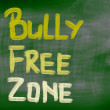 Stock Photo: Bully Free Zone Concept