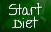 Start Diet Concept — Stock Photo