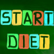 Start Diet Concept — Stock Photo #42742863