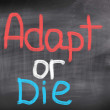 Adapt Or Die Concept — Stock Photo #42743459