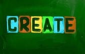 Creare il concetto — Foto Stock