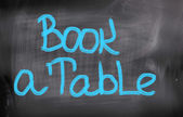 Book A Table Concept — Stock Photo