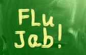 Flu Jab Concept — Stock Photo