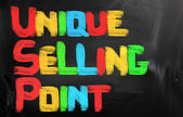 Unique Selling Point Concept — Foto de Stock