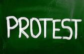 Notion de protestation — Photo