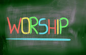 Worship Concept — Foto Stock