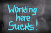 Working Here Sucks Concept — Photo