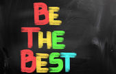 Be The Best Concept — Stock Photo