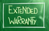Extended Warranty Concept — Stock Photo