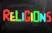 Religions Concept — Stock Photo