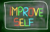 Improve Self Concept — Zdjęcie stockowe