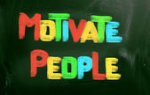 Motivate People Concept — Stock Photo