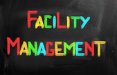 Facility Management Concept — Stock Photo
