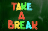 Take A Break Concept — Stock Photo