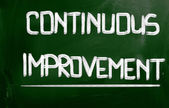 Continuous Improvement Concept — Stock Photo