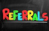 Referrals Concept — Stock Photo