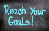 Reach Your Goals Concept — Stock Photo