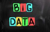Big Data Concept — Stock Photo