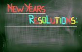 New Years Resolutions Concept — Stok fotoğraf
