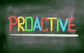 Proactive Concept — Stock Photo
