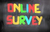 Online Survey Concept — Stock Photo