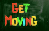 Get Moving Concept — Foto de Stock