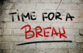 Time For A Break Concept — Stockfoto