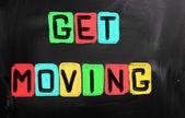 Get Moving Concept — Stock fotografie
