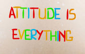 Attitude Is Everything Concept — Foto Stock