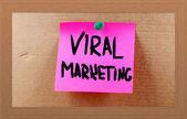 Concepto de marketing viral — Foto de Stock