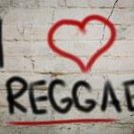 Постер, плакат: I Love Reggae Concept