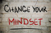 Change Your Mindset Concept — Stockfoto