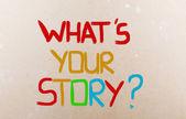 Jakie jest twoje pojęcie historii — Zdjęcie stockowe