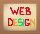 Web Design Concept — Stock Photo