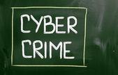 Cyber Crime Concept — Stock Photo